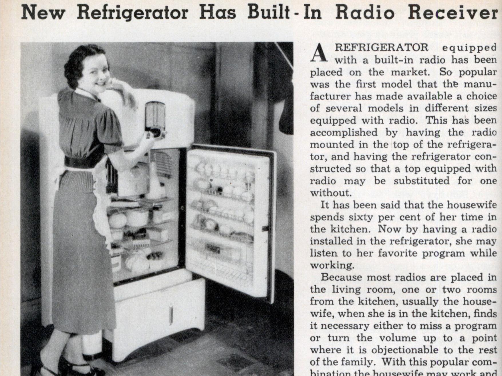 De pioniersjaren van de koelkast