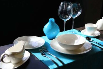 Exclusive: subtiel schoon Bone china servies van Cosy & Trendy