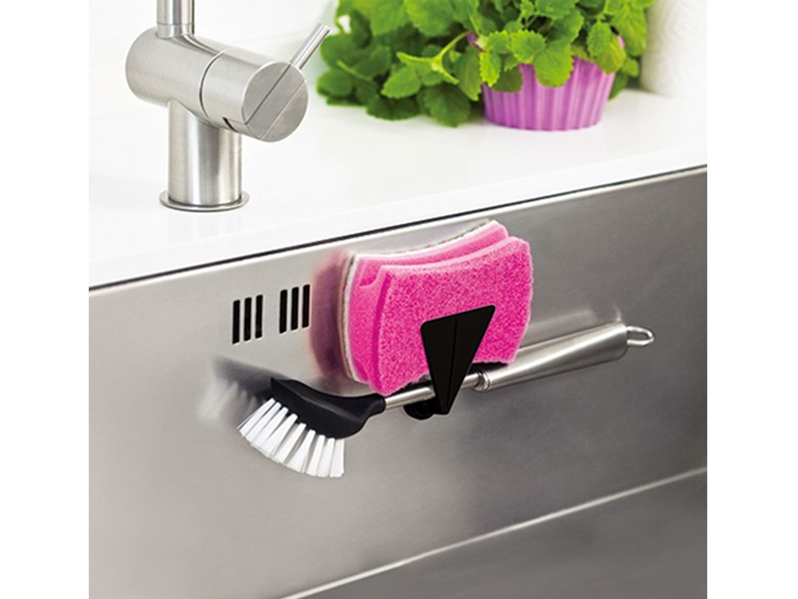Magnetische accessoires voor vaatdoeken en handdoeken