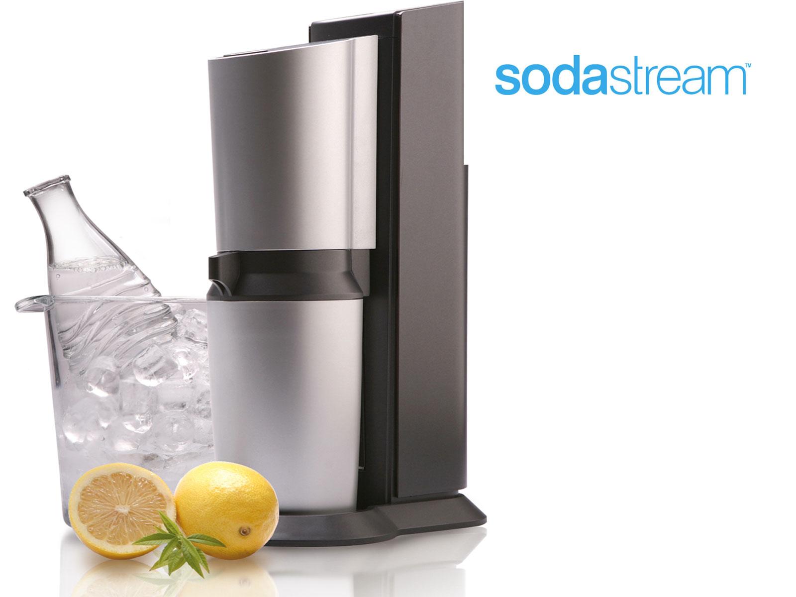 sodastream crystal toestel met een missie. Black Bedroom Furniture Sets. Home Design Ideas
