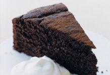 chocoladetaart le creuset