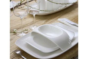Hedendaagse tafelopstelling met Villeroy & Boch