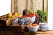 Servies in landelijke stijl van Villeroy&Boch