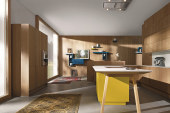 NX 605: een rustieke keuken met contrasterende elementen