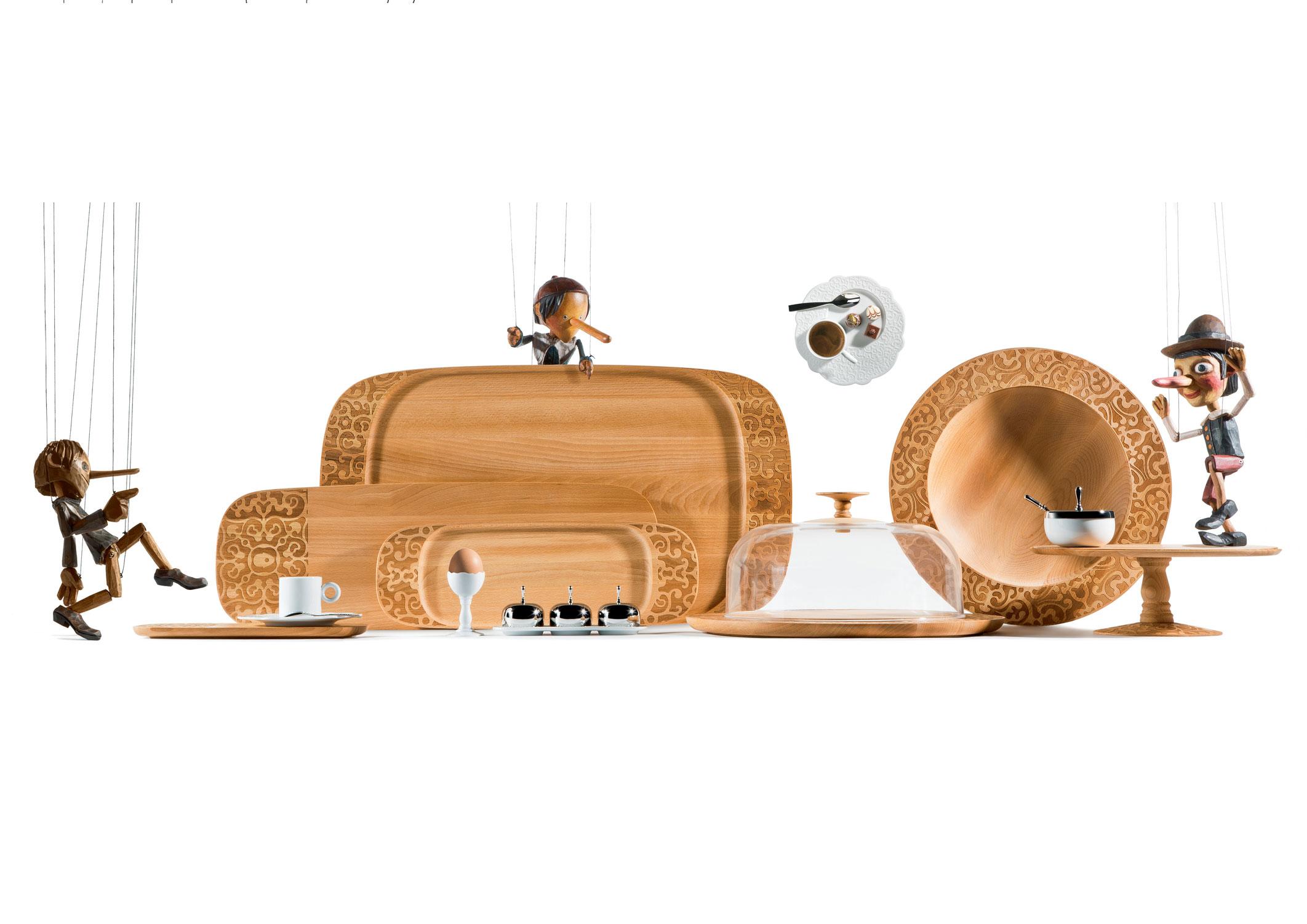 Alessi toont hart van hout