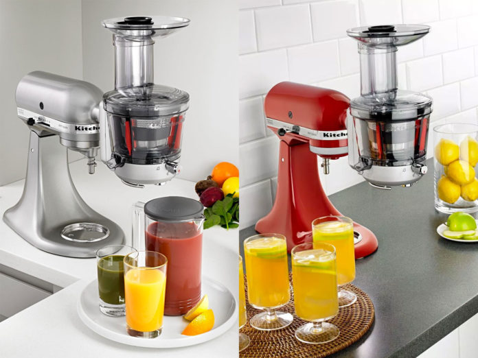 Kitchenaid Slowjuicer Recepten : Extracteur de jus KitchenAid