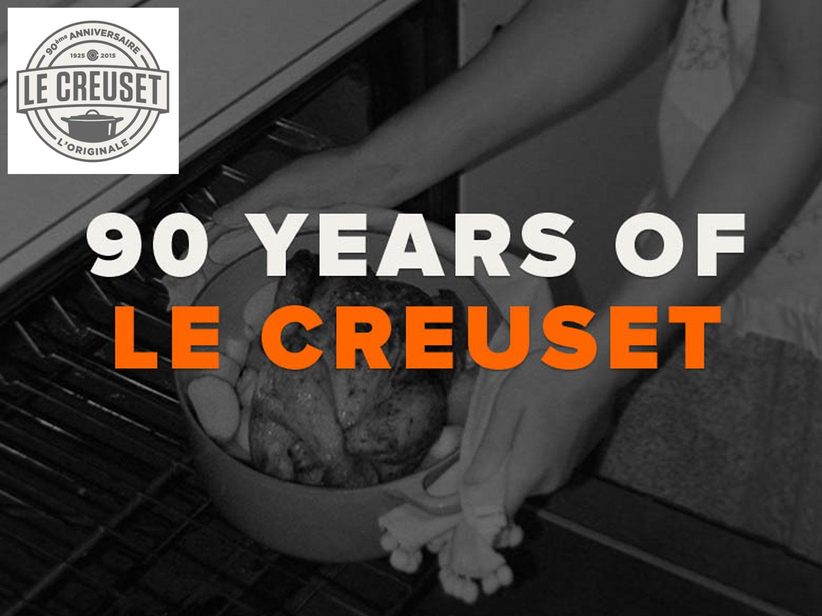 Le Creuset viert 90ste verjaardag