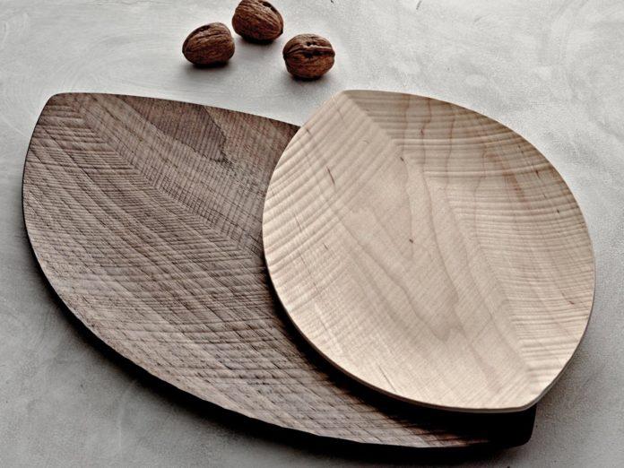 legnoart serveerschaal hout