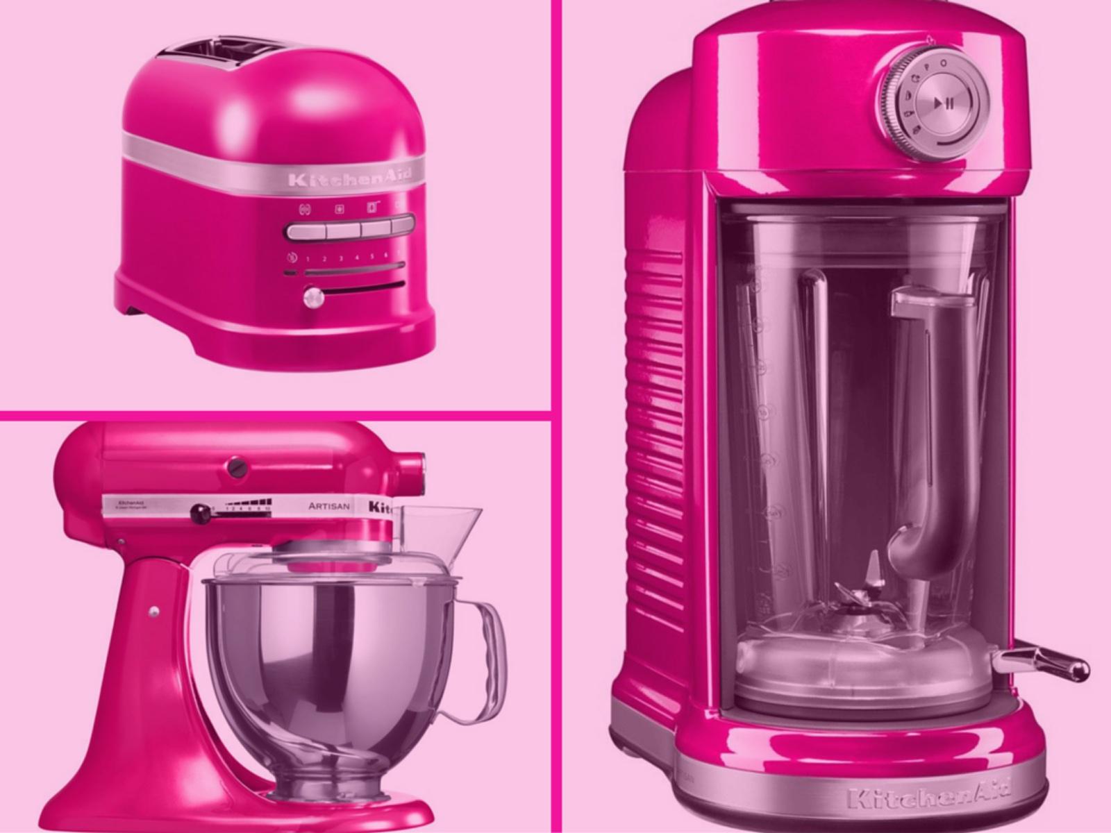 Het leven door een roze bril met kichenaid - Kleur harmonie leven ...