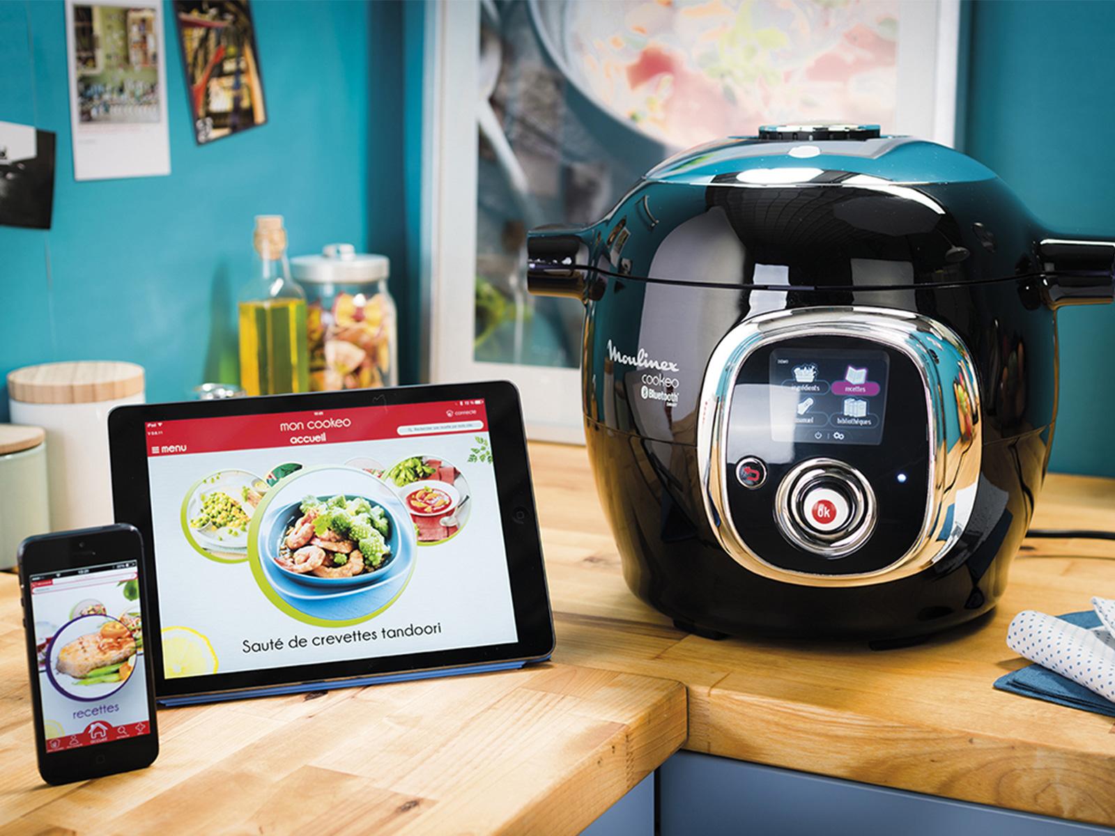 cr ativit culinaire avec le cookeo connect. Black Bedroom Furniture Sets. Home Design Ideas