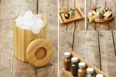 Une brillante collection en bambou