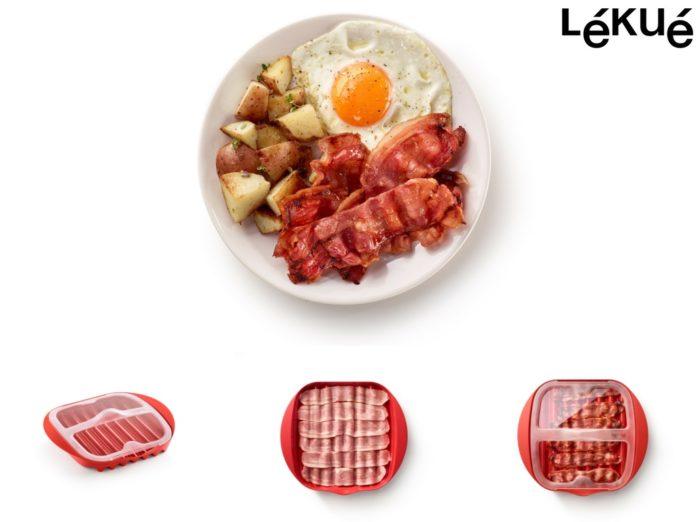 lékué bacon cooker