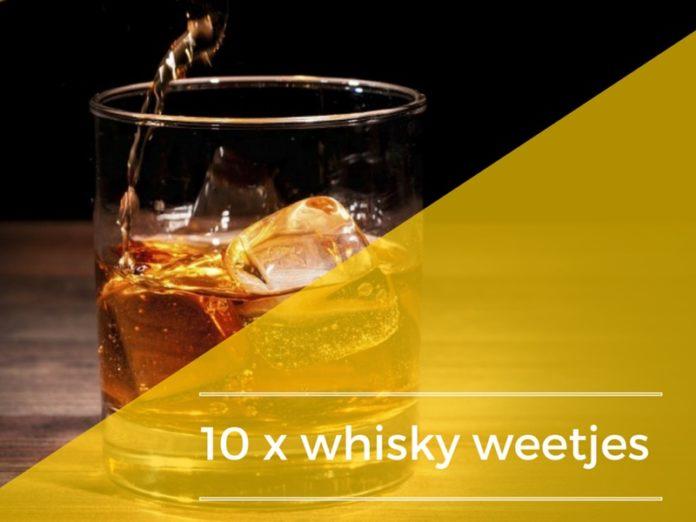 weetjes whisky