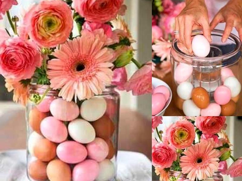 DIY pasen bloemen