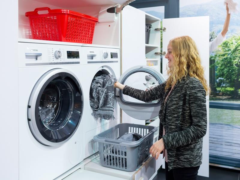 blum bijkeuken wasmachine