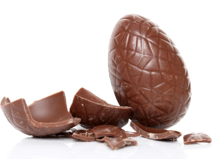 pasen chocolade eieren