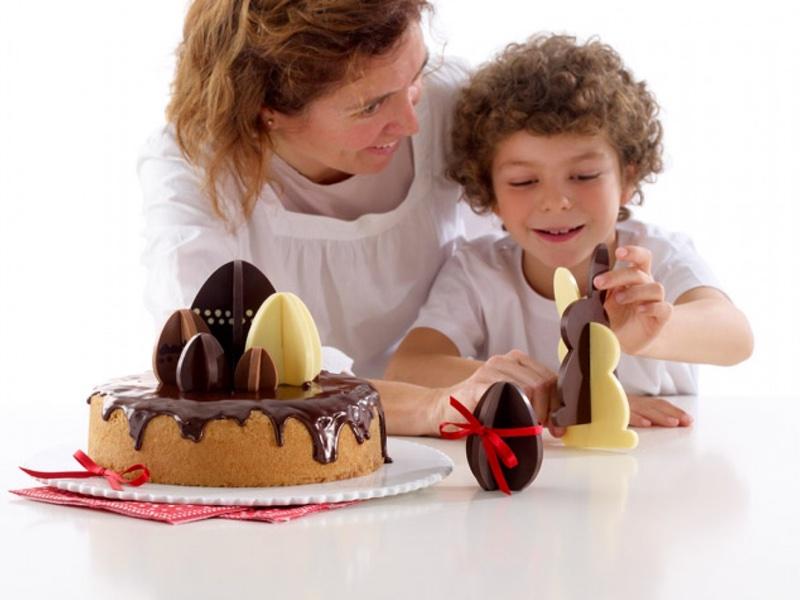 Pasen Lékué chocoladevorm 3D