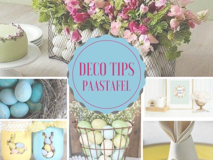 paastafel decoratie tips