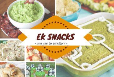 Scoor met deze EK-snacks