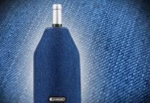 le creuset wijnkoeler denim