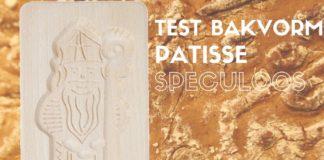 Patisse speculoosvorm test