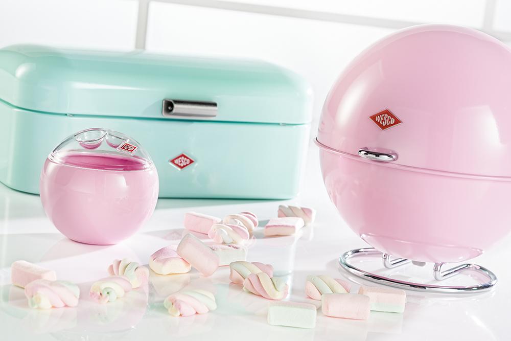 Wesco Kickmaster Roze.Retro Glamour In Je Keuken Met De Wesco Candy Collection