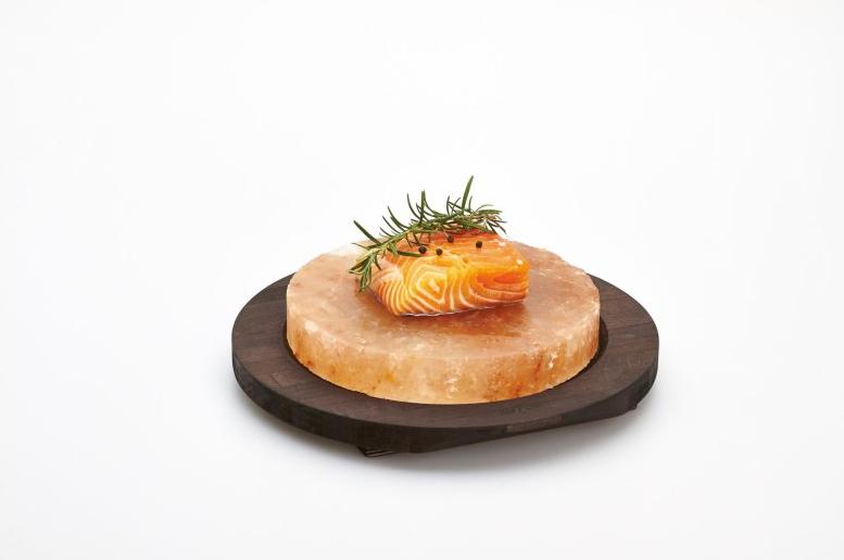 Cuisinez sur une pierre de sel Bisetti: des plats délicieux en un tour de main