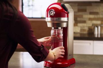 KitchenAid SodaStream: zelfgemaakte bubbles in slechts enkele seconden