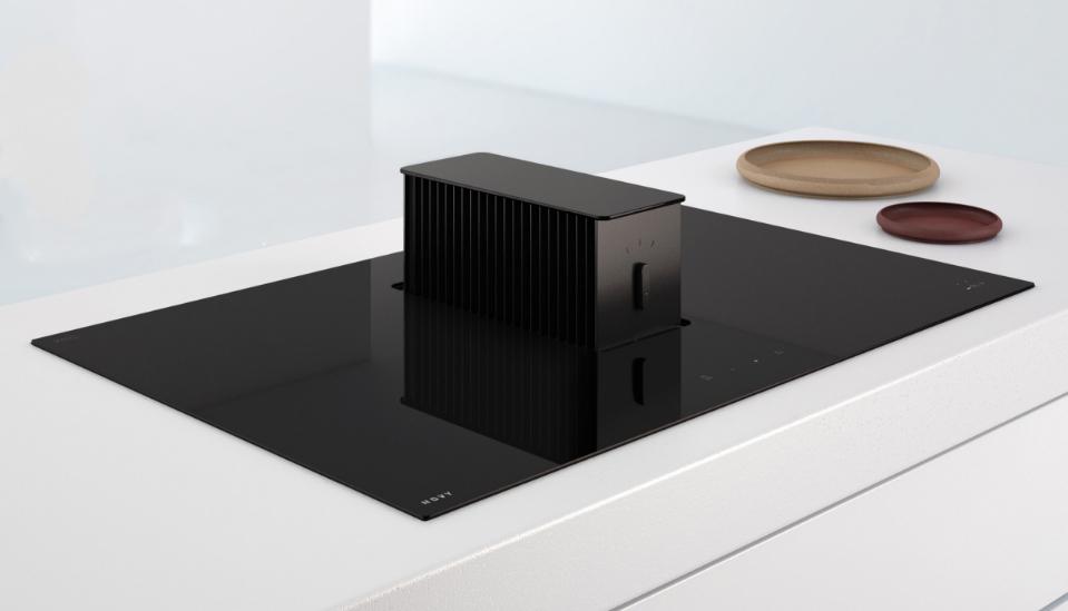 Slim gezien: de Novy One is kookplaat en dampkap in één
