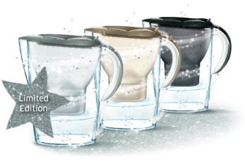 Met de glamoureuze Brita Marella kan drink je zeker genoeg water dit jaar
