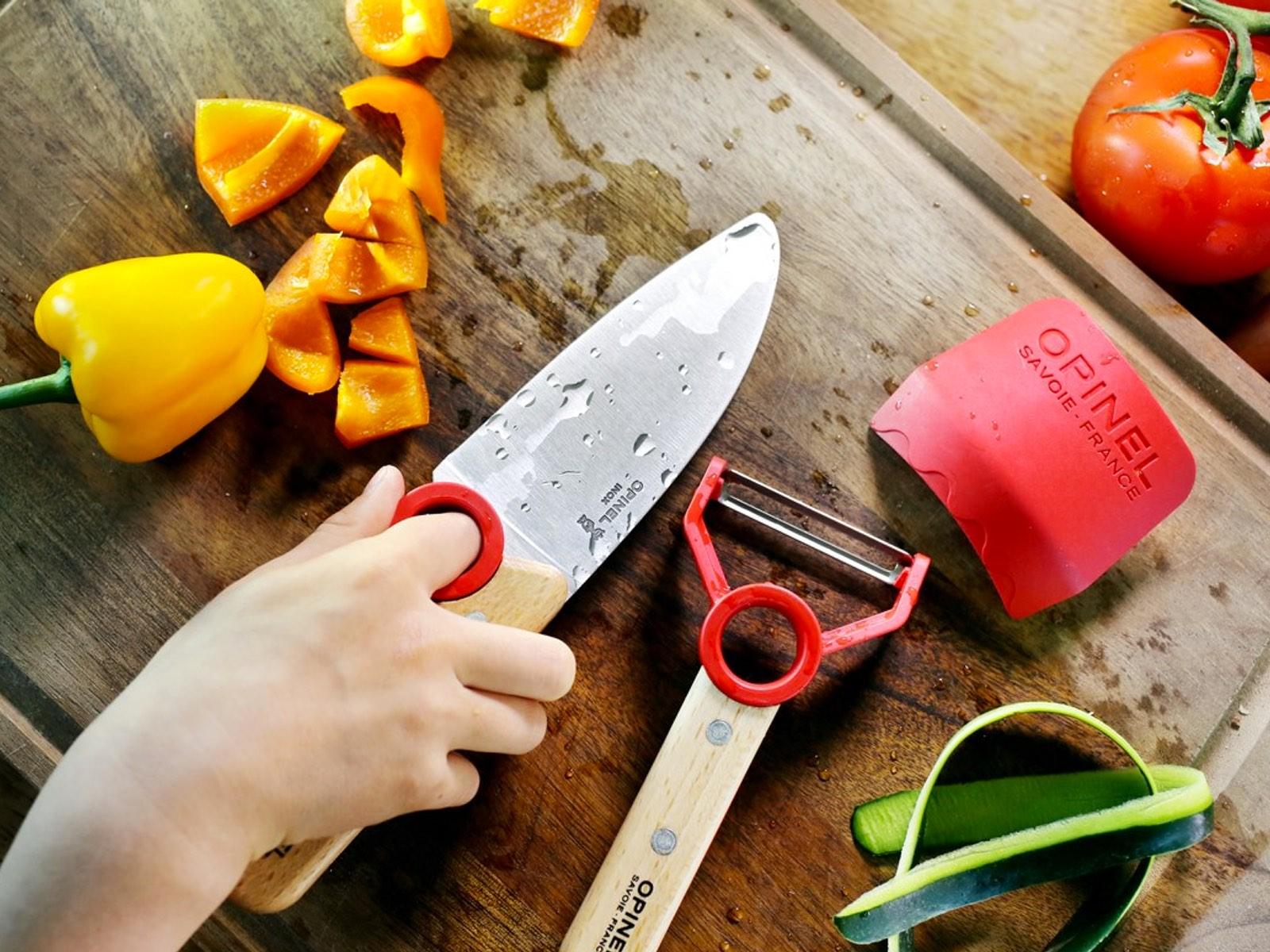 Ook de kleinsten helpen mee in de keuken met Le Petit Chef van Opinel