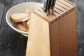 Eyecatcher op het aanrecht: het beuken messenblok van Point-Virgule