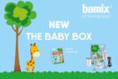 Zelf snel en gezond babyvoeding maken doe je met de Bamix Baby Box