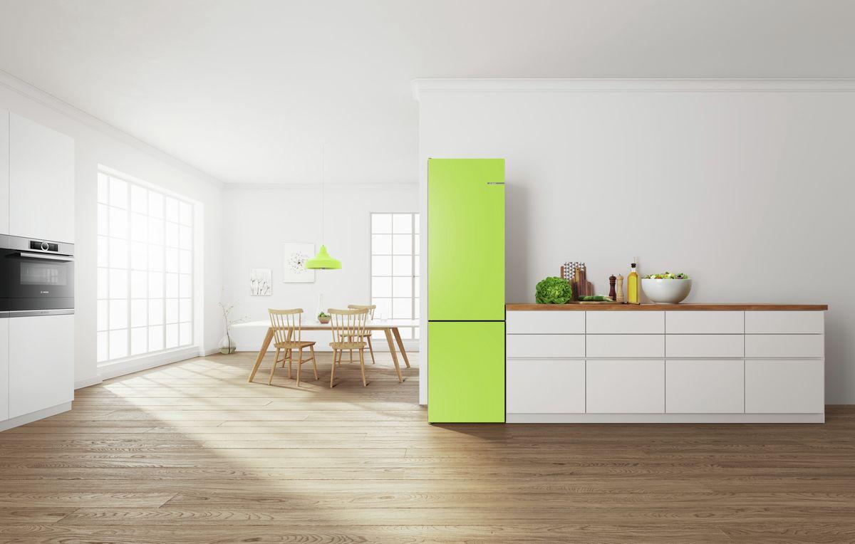 Bosch Retro Koelkast : Wijzig de kleur van je koelkast met bosch vario style