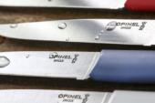 Ontdek de vrolijke kleuren van het Opinel Bon Appétit + tafelmes!