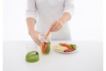 Steeds een verse maaltijd mee met de  Lékué 'jar to go'!