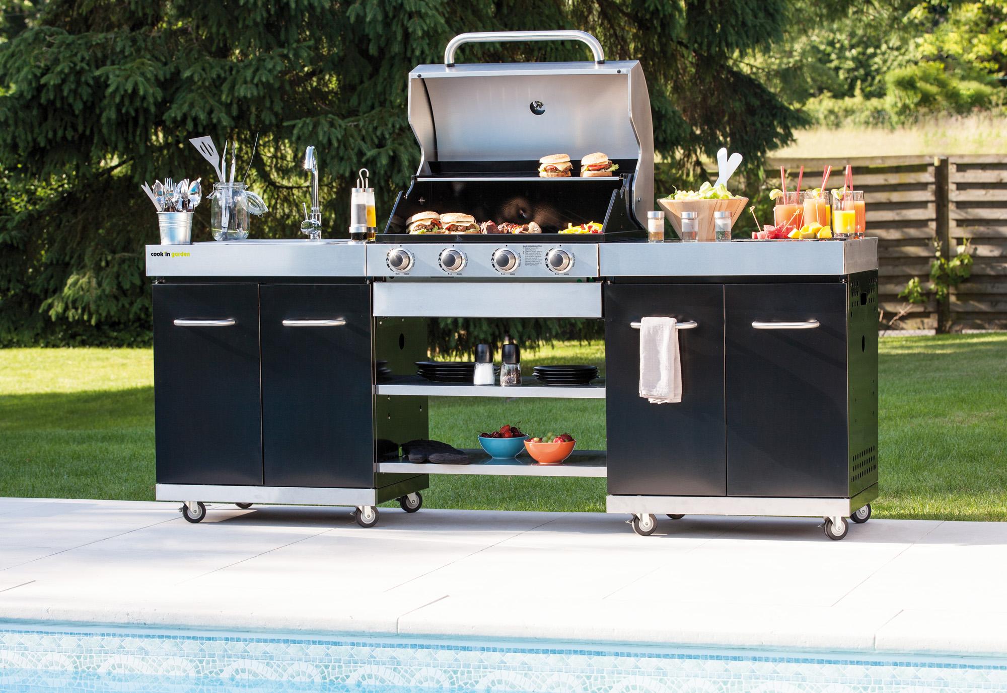 De buitenkeukens en barbecues van Cook'in Garden komen naar België!