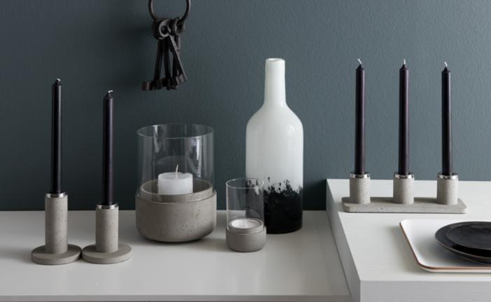 Breng een rauwe, stoere sfeer in huis met de Solido Cement lijn van Zilverstad