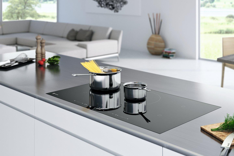 V-Zug kookplaten met OptiGlass: mooi robuust design voor je keuken