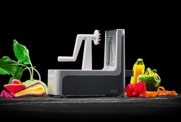 De Lurch Super Spirali kan alle vormen groenten en fruit aan