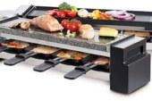 De Foldable raclette & stone grill van Fritel verrast van begin tot einde!