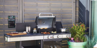 Cook'in Garden barbecue