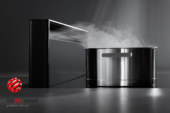 Prestigieuze Red Dot Award voor de kookplaat en dampkap in één van Novy