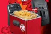 Met de duivelse friteuse van Fritel maak je echte WK frietjes!