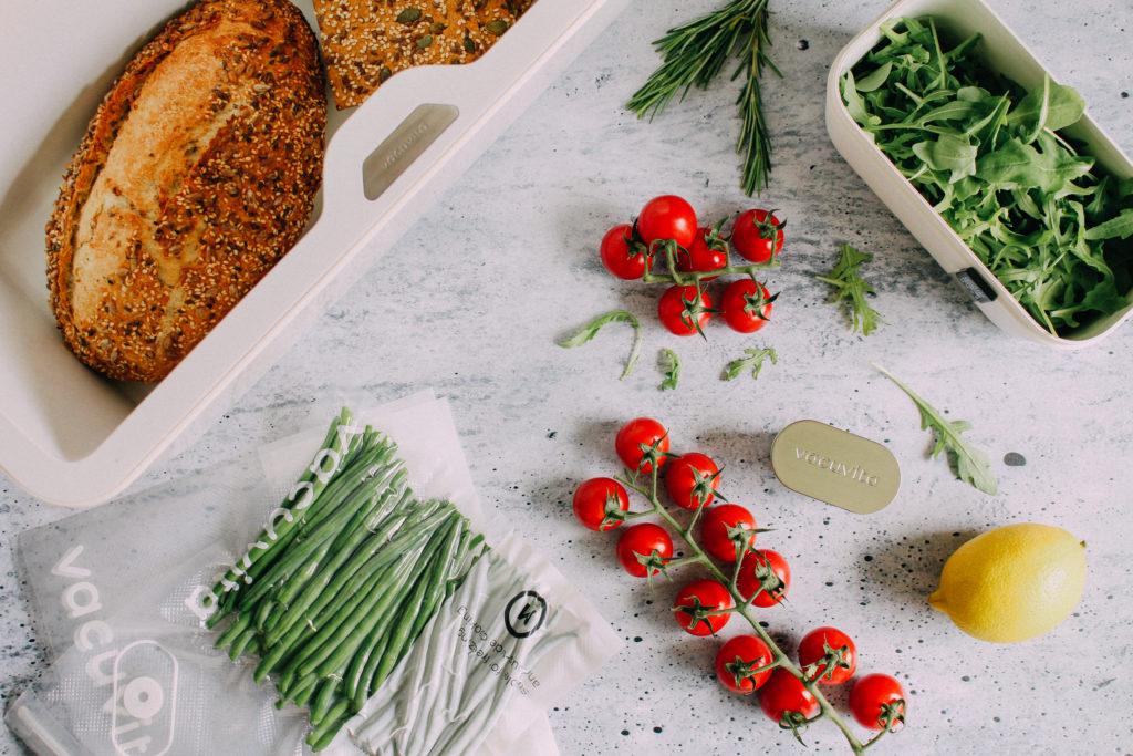 Vacuvita om brood, groenten en salade de bewaren