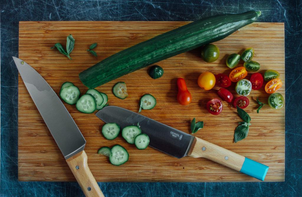 Couteaux Santoku et Chef d'Opinel
