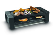 Raclettle, gourmet en Italiaanse pret met de Pizza Grill & Raclette van Fritel