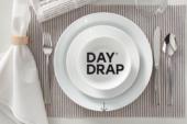 Nieuw: geen feesttafel zonder de Day Drap onderleggers!