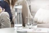 Elegante waterkaraf van Brita voor schoner, frisser water