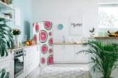 Altijd zomer in de keuken met de 'One in a Melon' koelkast van Etna